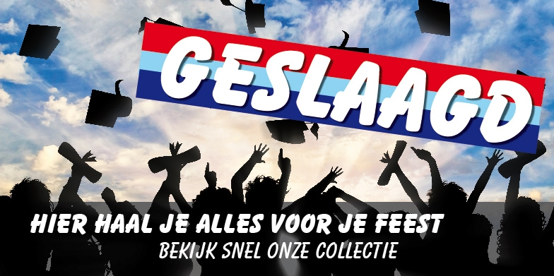 Suzanne's Feest Shop - Geslaagd