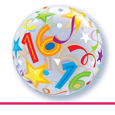 Bubbles ballon 16