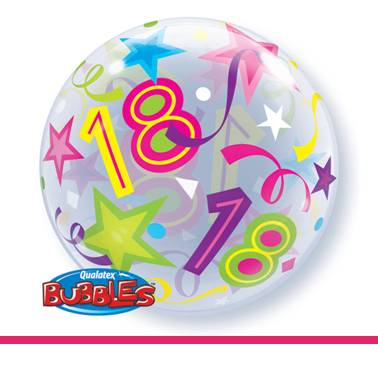 Bubbles ballon 18
