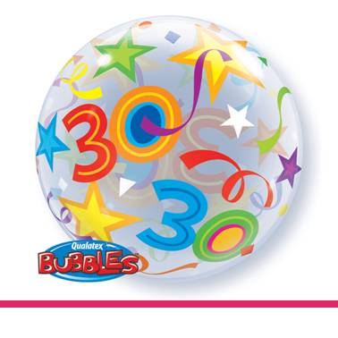 Bubbles ballon 30