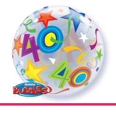 Bubbles ballon 40