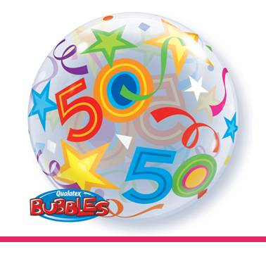Bubbles ballon 50