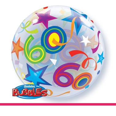 Bubbles ballon 60