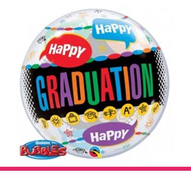 Bubble ballon Graduation