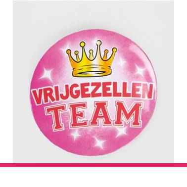 Button XL Vrijgezel dames