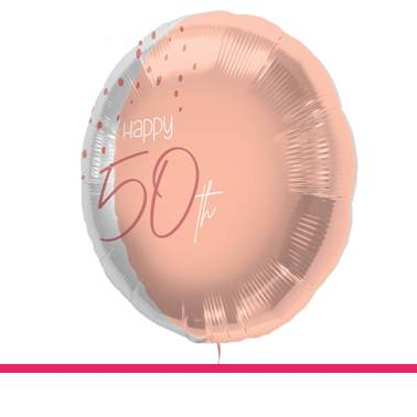 Folieballon Elegant Blush 50