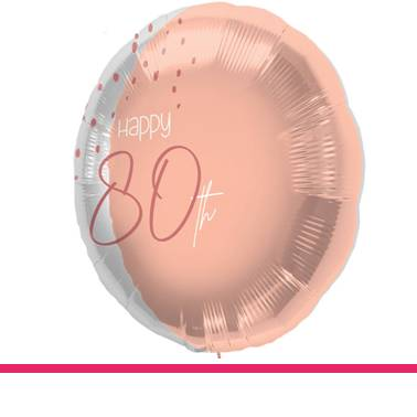 Folieballon Elegant Blush 80