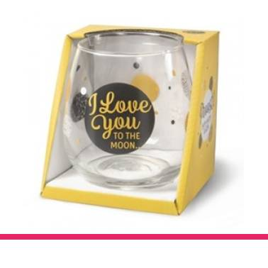 Glas Proost I love You