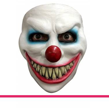 Masker clown evil laugh