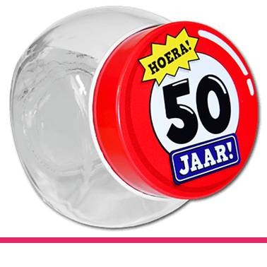 Candy Jars 50 jaar