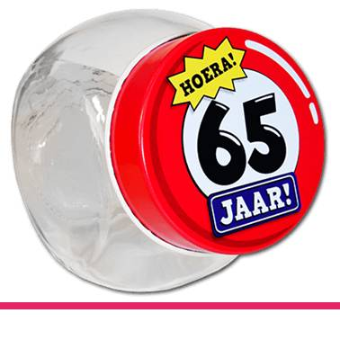 Candy Jars 65 jaar