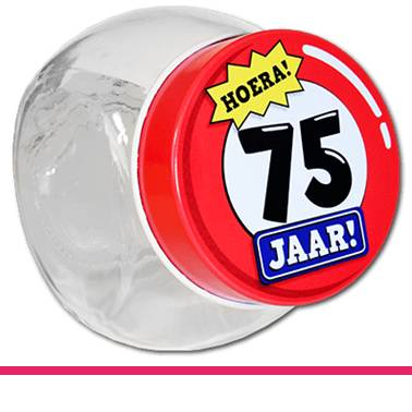 Candy Jars 75 jaar
