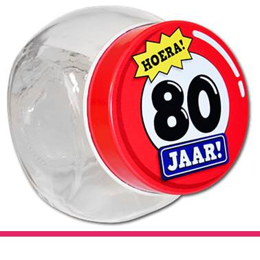 Candy Jars 80 jaar