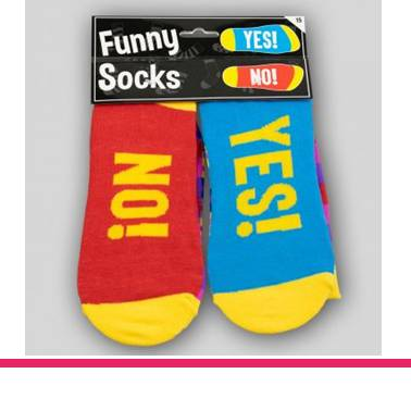 Funny Socks Yes! No!